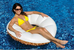SWIM SPORTZ DONUT RING LOUNGER