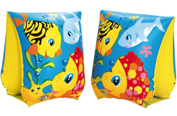 INTEX FUN FISH ARM BANDS FOR AGES 3-6 YEARS