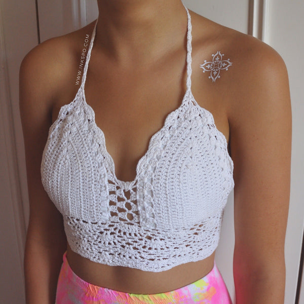 'White Lace' set - Inkspo