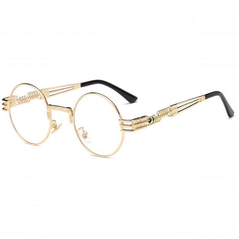 Retro Shades - Clear Gold - Inkspo