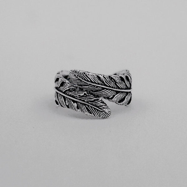 Feather Wrap Ring - Inkspo