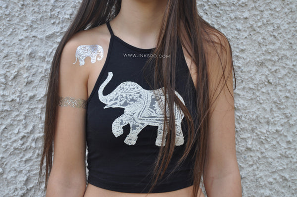 'Wanderlust' Set - Elephants, Hamsa Hands, Ganesh & more! - Inkspo