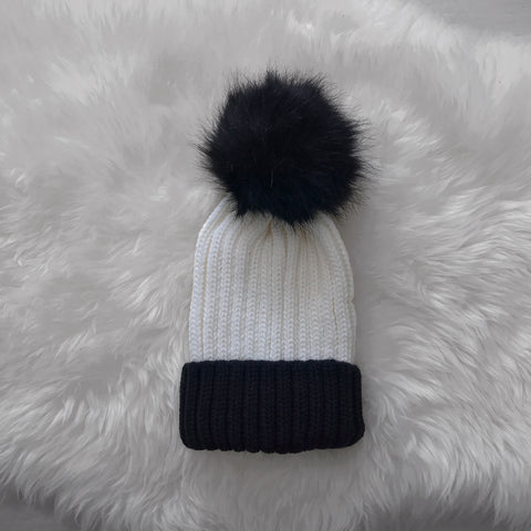 Double Black Beanie - Inkspo