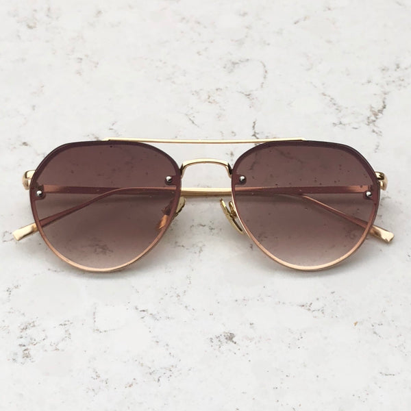 Mia Sunnies - Sepia Brown - Inkspo