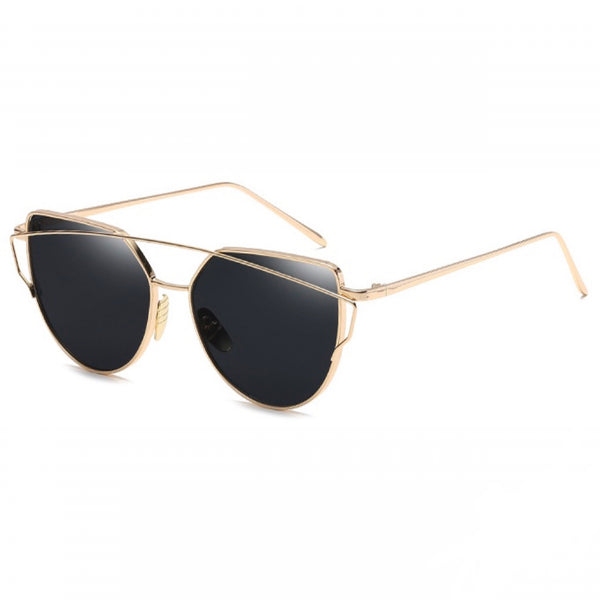 Savannah Sunnies - Black & Gold - Inkspo