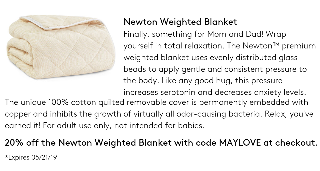 Newton Weighted Blanket