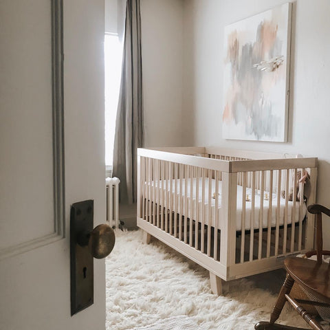 new baby cribs sets in the nursery