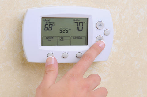 adjusting the thermostat according to baby sleep temperature guidelines