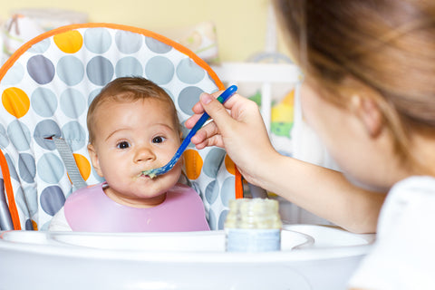 baby feeding supplies as gifts for new parents