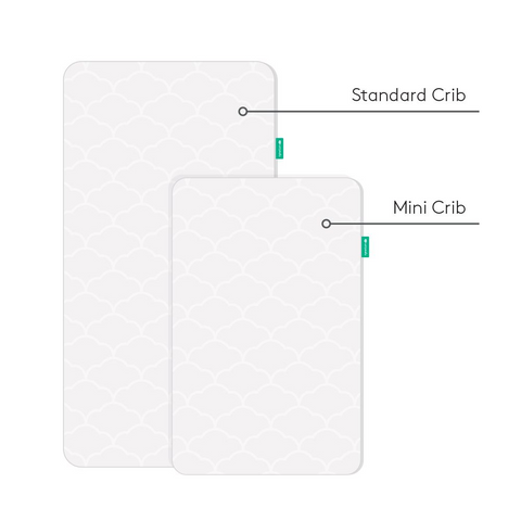 two different crib mattress sizes
