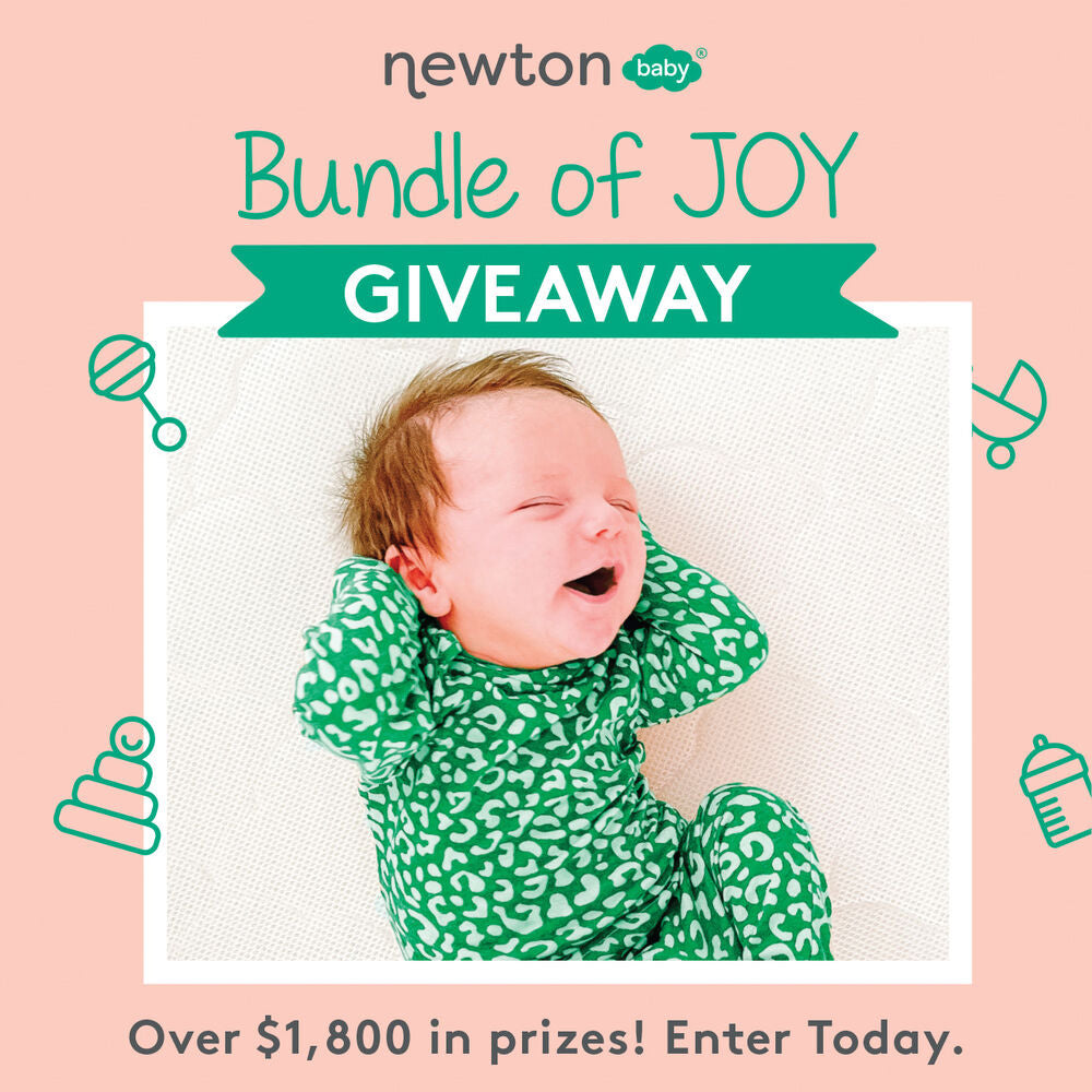 Newton Baby. Bundle of Joy Giveaway. Over $1,800 in prizes! Enter today.