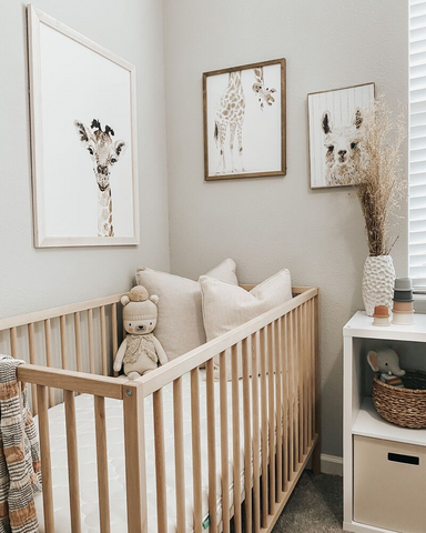 Room filled with all the nursery essentials