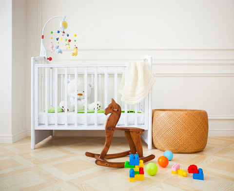 Nursery essentials set up perfect for playing