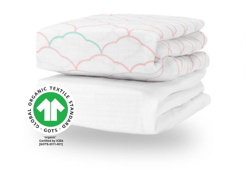Breathable, Organic Cotton Sheets (2-pack)