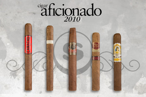 Top 25 Five Pack from Cigar Aficionado 2010