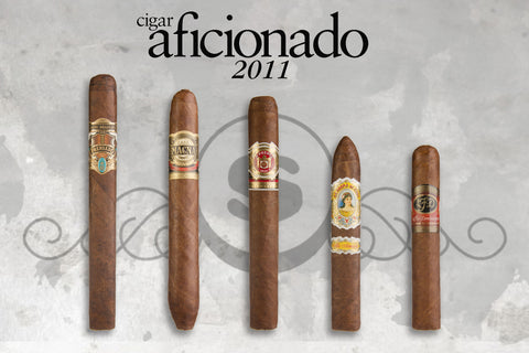 Top 25 Five Pack from Cigar Aficionado 2011