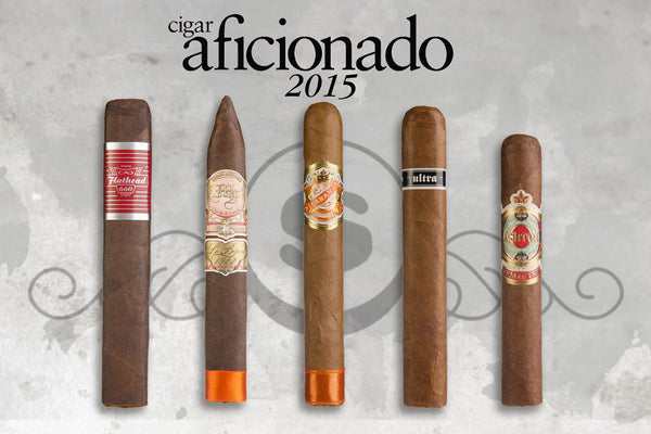 Top 25 Five Pack from Cigar Aficionado 2015