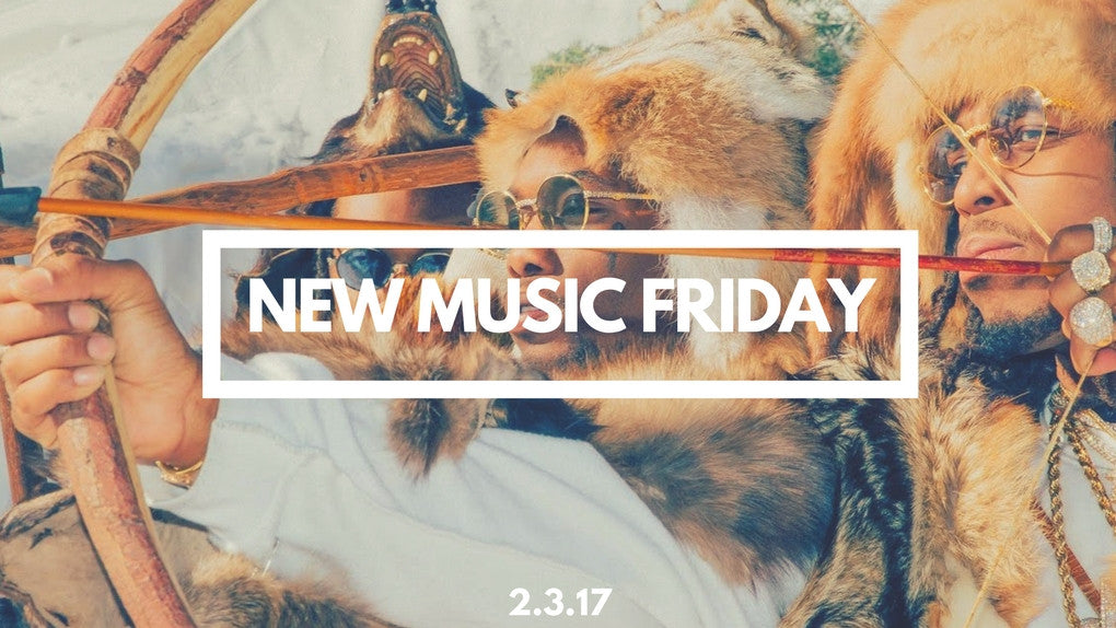 New Music Friday [ February 3, 2016 ]