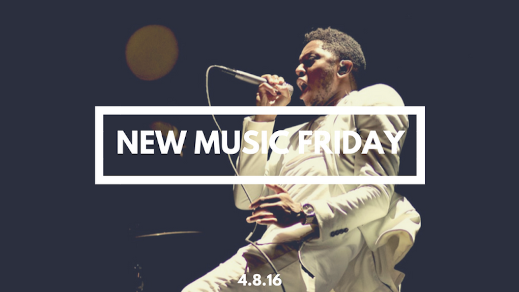 New Music Friday [ April 8, 2016 ]