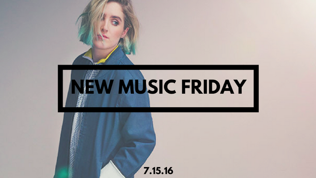 New Music Friday [ July 15, 2016 ]