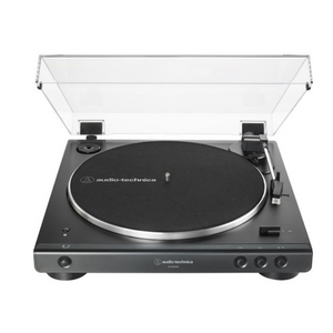 Audio-Technica AT-LP60XBT-BK Fully Automatic Wireless Belt-Drive Turntable