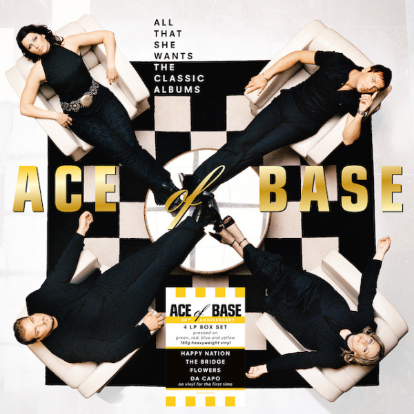 Ace of Base // All That She Wants (4 LP - Colored Vinyl)