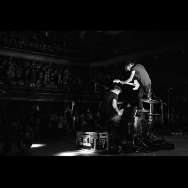 Japandroids // Massey F***ing Hall (Cherry Bomb Splash)