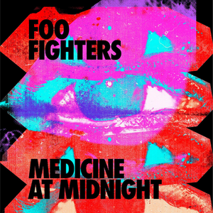 Foo Fighters // Medicine at Midnight (Colored Vinyl, Blue, 140 Gram Vinyl, Indie Exclusive)