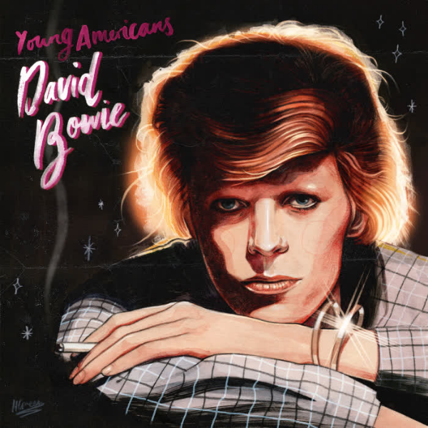 David Bowie // Young Americans (Gold Vinyl)