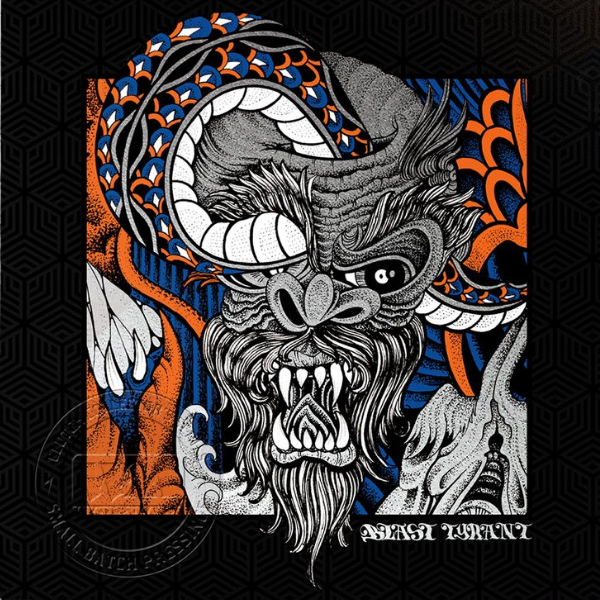 Clutch // Blast Tyrant (Limited Edition Blue and Orange Vinyl)