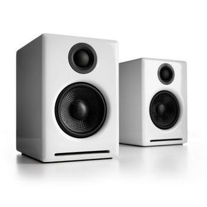 Audioengine A2+ Powered Speakers-Speakers-Audioengine-White-vinylmnky