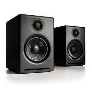 Audioengine A2+ Powered Speakers-Speakers-Audioengine-Black-vinylmnky