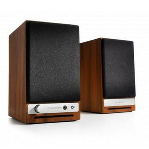 AudioEngine HD3 Wireless Speakers-Speakers-Audioengine-Walnut-vinylmnky