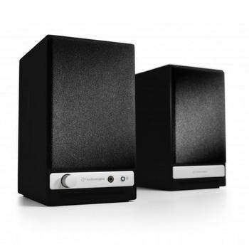 AudioEngine HD3 Wireless Speakers-Speakers-Audioengine-Black-vinylmnky