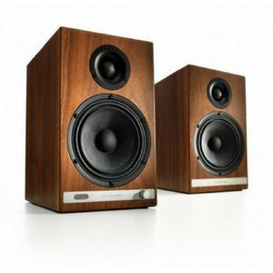 Audioengine HD6 Premium Powered Bluetooth Speakers-Speakers-Audioengine-Walnut-vinylmnky