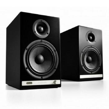 Audioengine HD6 Premium Powered Bluetooth Speakers-Speakers-Audioengine-Black-vinylmnky
