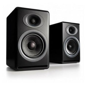 Audioengine P4 Premium Passive Bookshelf Speakers-Speakers-Audioengine-Black-vinylmnky