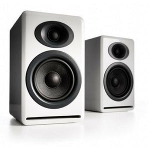 Audioengine P4 Premium Passive Bookshelf Speakers-Speakers-Audioengine-White-vinylmnky