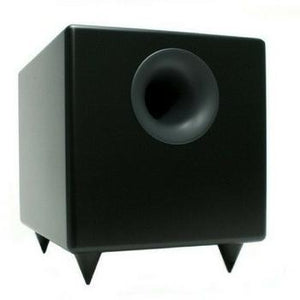Audioengine S8 Powered Subwoofer-Subwoofers-Audioengine-Black-vinylmnky