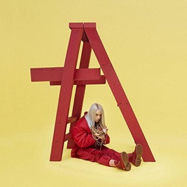 Billie Eilish // dont smile at me-Interscope-vinylmnky