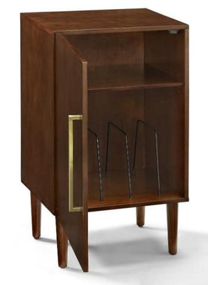 Crosley Everett Record Player Stand-Cabinets and Stands-Crosley-vinylmnky