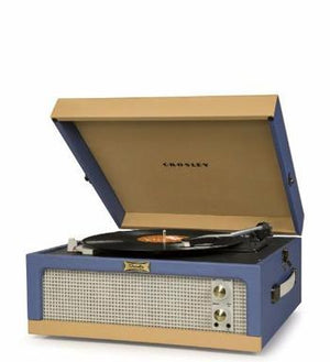 Dansette Junior Turntable - Blue/Tan