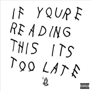 Drake // If You're Reading This It's Too Late-Republic-vinylmnky