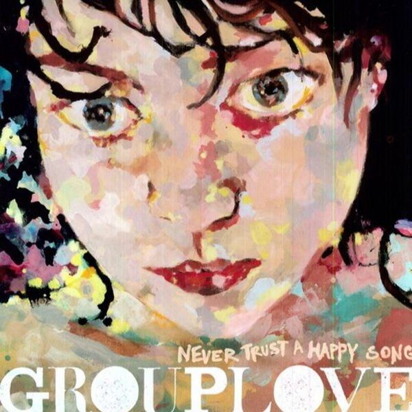 Grouplove // Never Trust A Happy Song-Atlantic-vinylmnky