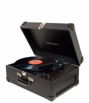 Keepsake Portable USB Turntable - Black Side