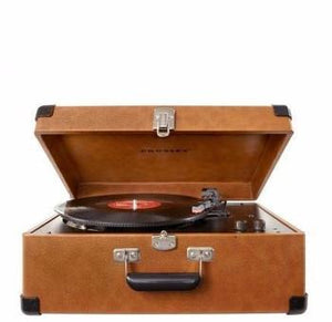 Keepsake Portable USB Turntable - Tan Front