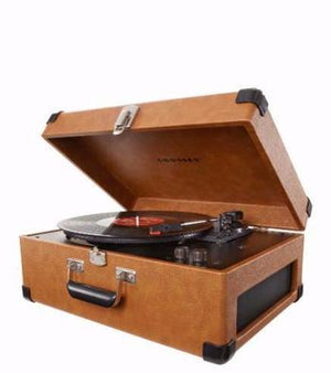 Keepsake Portable USB Turntable - Tan Side