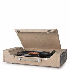 Nomad Portable USB Turntable - Light Brown