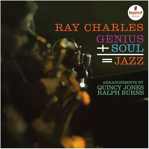 Ray Charles // Genius + Soul = Jazz