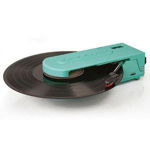 Revolution Portable USB Turntable + [ Bonus Spotlight LP Included ]-Record Player-Crosley-Turquoise-vinylmnky
